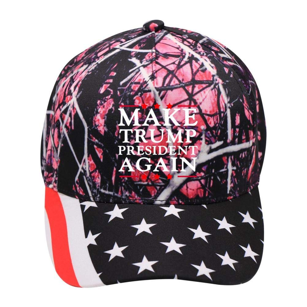 Make Trump President Again 2020 Campaign:WUROIMK Baseball Caps American Outdoor Forest Elements Adult Teens Can Adjust