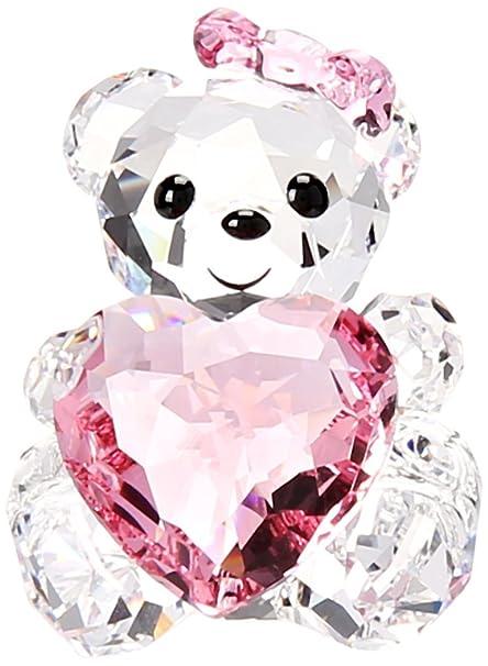 3a23fa6cea Amazon.com: Swarovski Only For You Kris Bear Collectible Doll: Home &  Kitchen