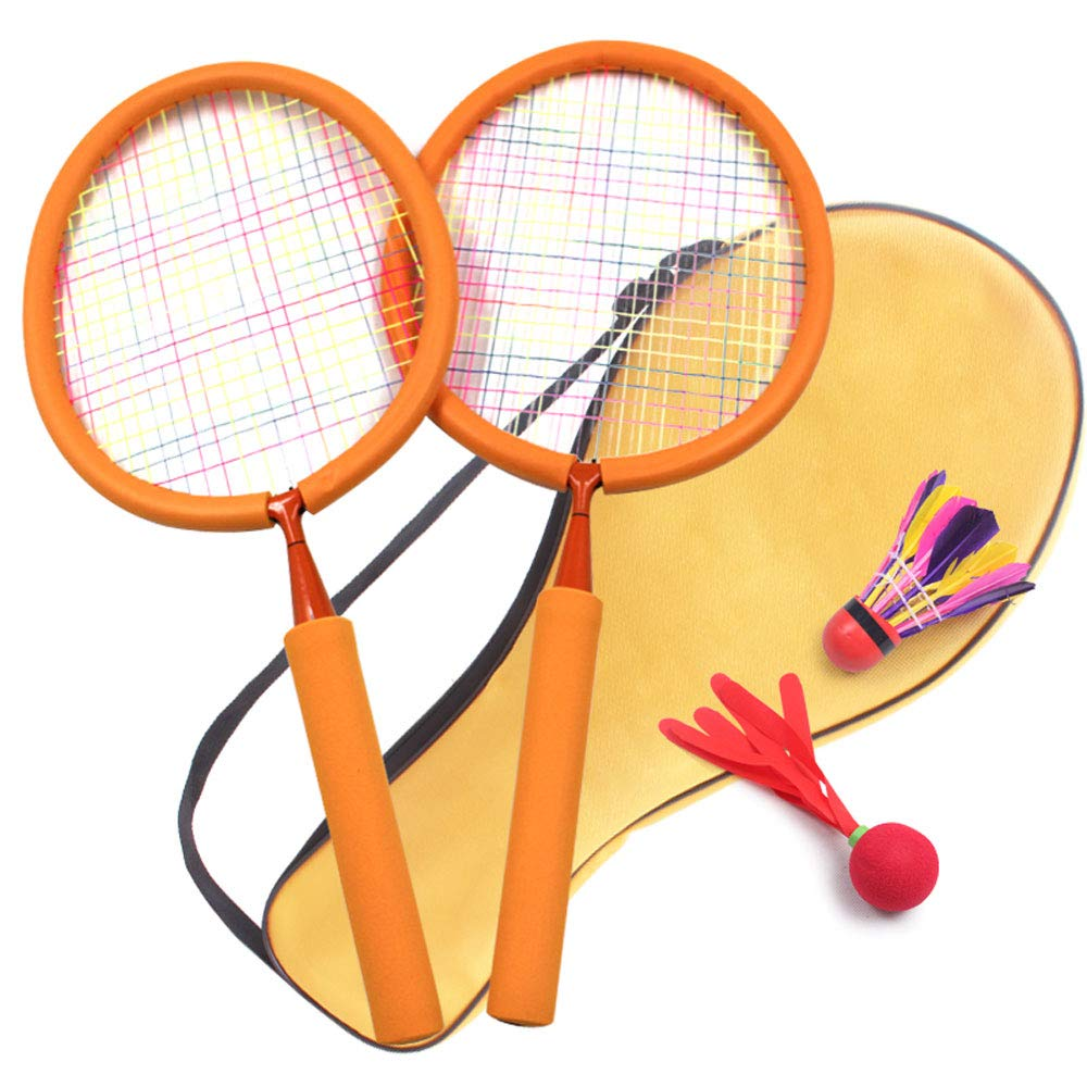 Jian E -// Toys - Children's Badminton Racket - Boys and Girls Sports Toys - 3 Years Old + Toys /-/ (Color : B)