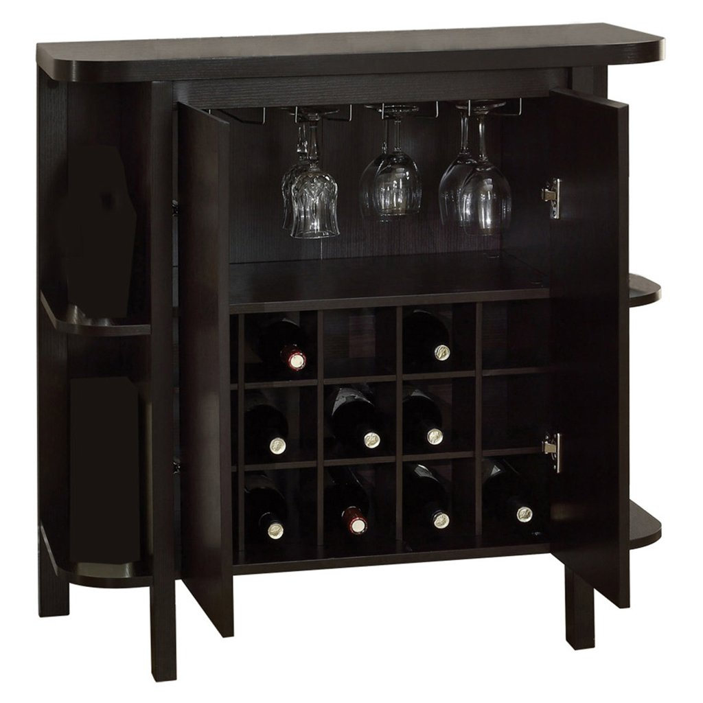 Exceptionnel Monarch Specialties Cappuccino Finish Bar Cabinet