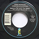 Steve Winwood 45 RPM Back In The High Life Again / Night Train