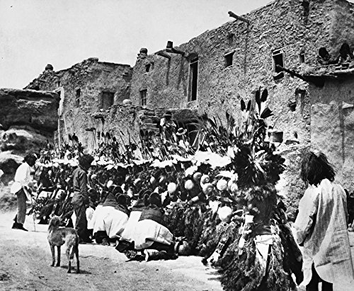 Hopi Ceremony C1913 Nhopi Dancers In Hemis Kachina for sale  Delivered anywhere in USA