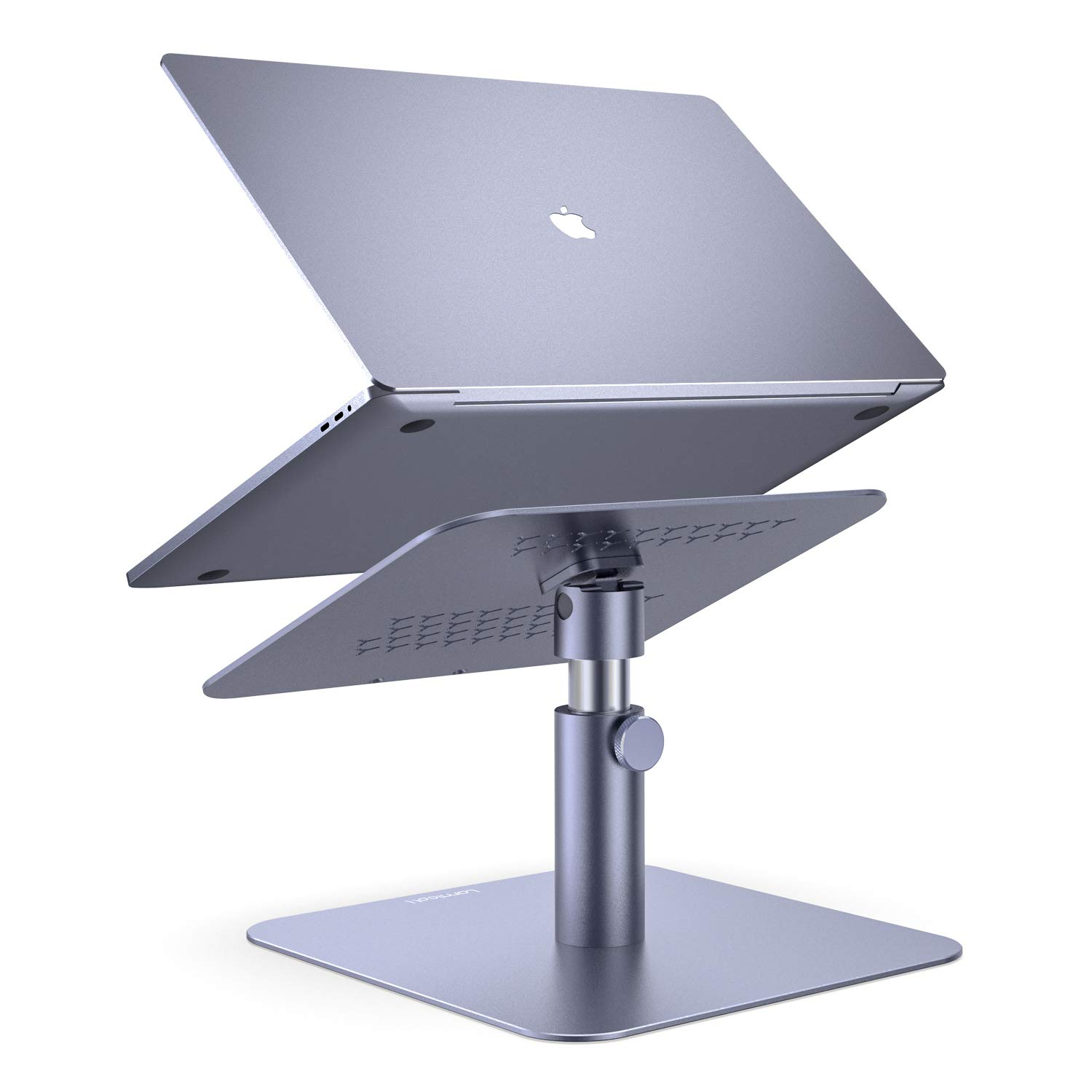 Adjustable Laptop Stand, Lamicall Laptop Riser : Multi-Angle Height Adjustable 360°Rotation Computer Notebook Stand Desktop Holder Compatible with Apple MacBook, Mac, Air, Pro, Dell XPS, HP(10-17'') by Lamicall