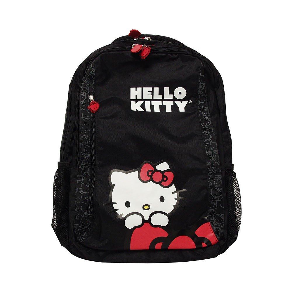 Amazon.com: Hello Kitty Back Pack Style 15.4 Laptop Bag - Black ...
