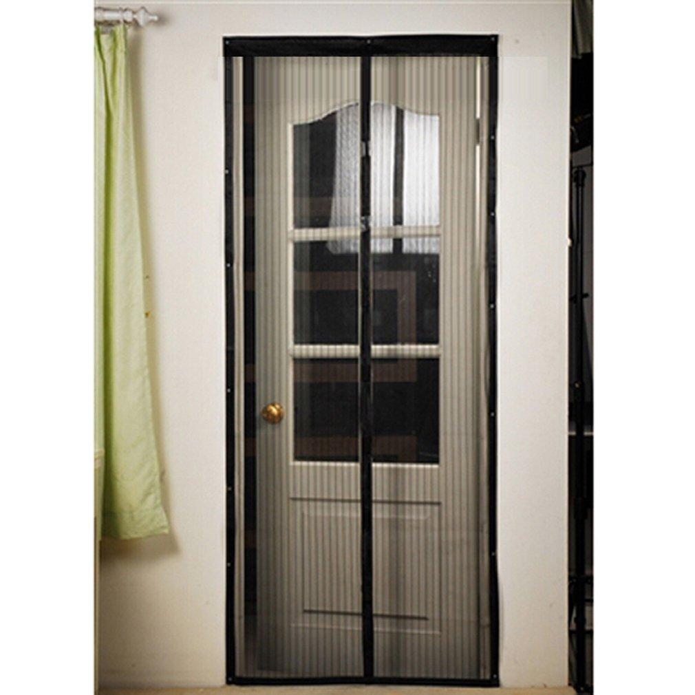 Magnetic Screen Door : Cozime magnetic door screen insect instant magic mesh