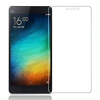 KAPILTRADERS 9H Hardness, 2.5D Curved Edge, Ultra Clear Anti Fingerprints Tempered Glass for Xiaomi Mi4i  Transparent