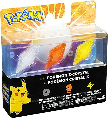 Pokemon Z Ring Z Crystal 3 Pack Fightinium