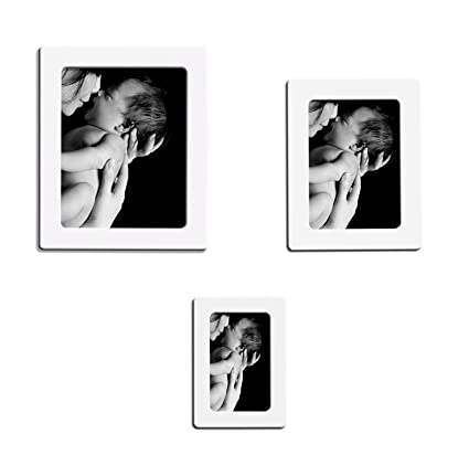 Amazon.com - Lubber Magnetic Picture Frame for Refrigerator Magnets ...
