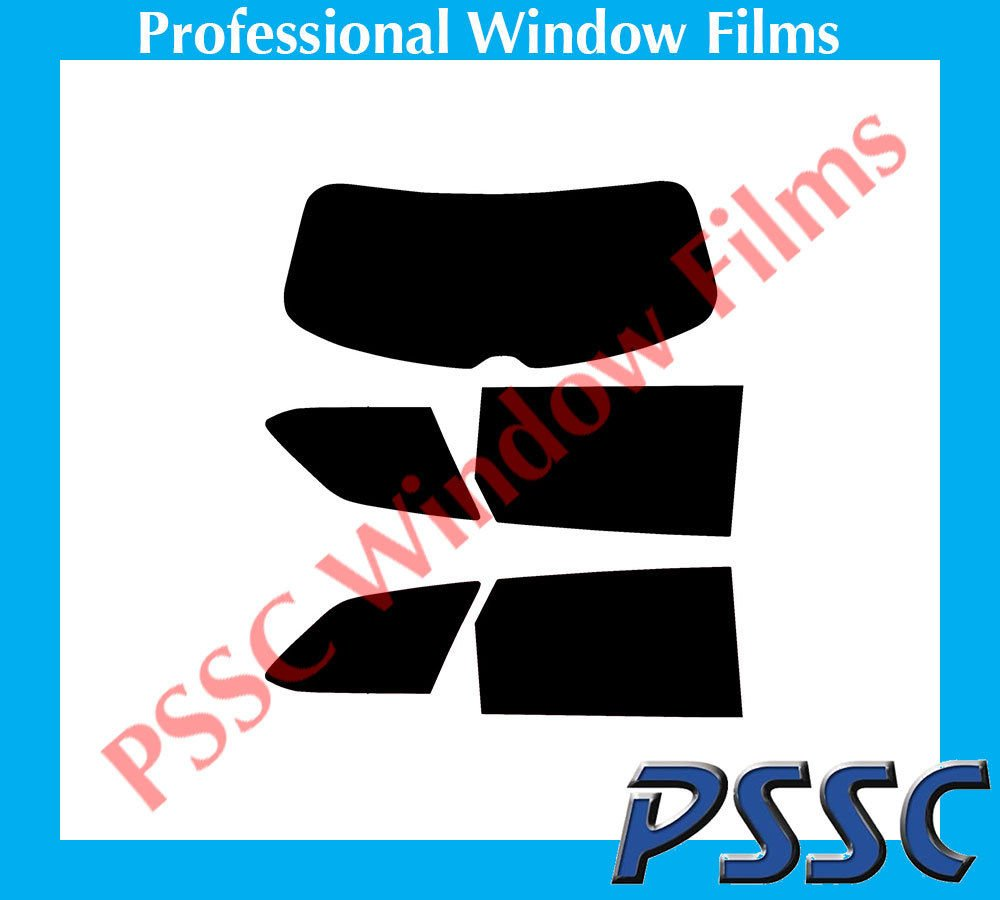 PSSC Pre Cut Rear Car Window Films for Seat Leon ST Estate 2014 to 2016 05/% Very Dark Limo Tint