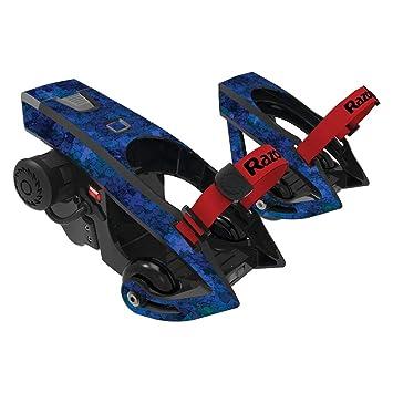 MightySkins Skin for Razor Turbo Jetts Electric Heel Wheels - Blue Ice | Protective, Durable