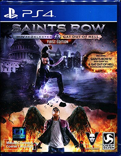 Saints Row IV: Re-Elected + Gat out of Hell (Zone 3) (Game-PS4) Playstation 4 (Saints Row Gat Out Of Hell Ps4)