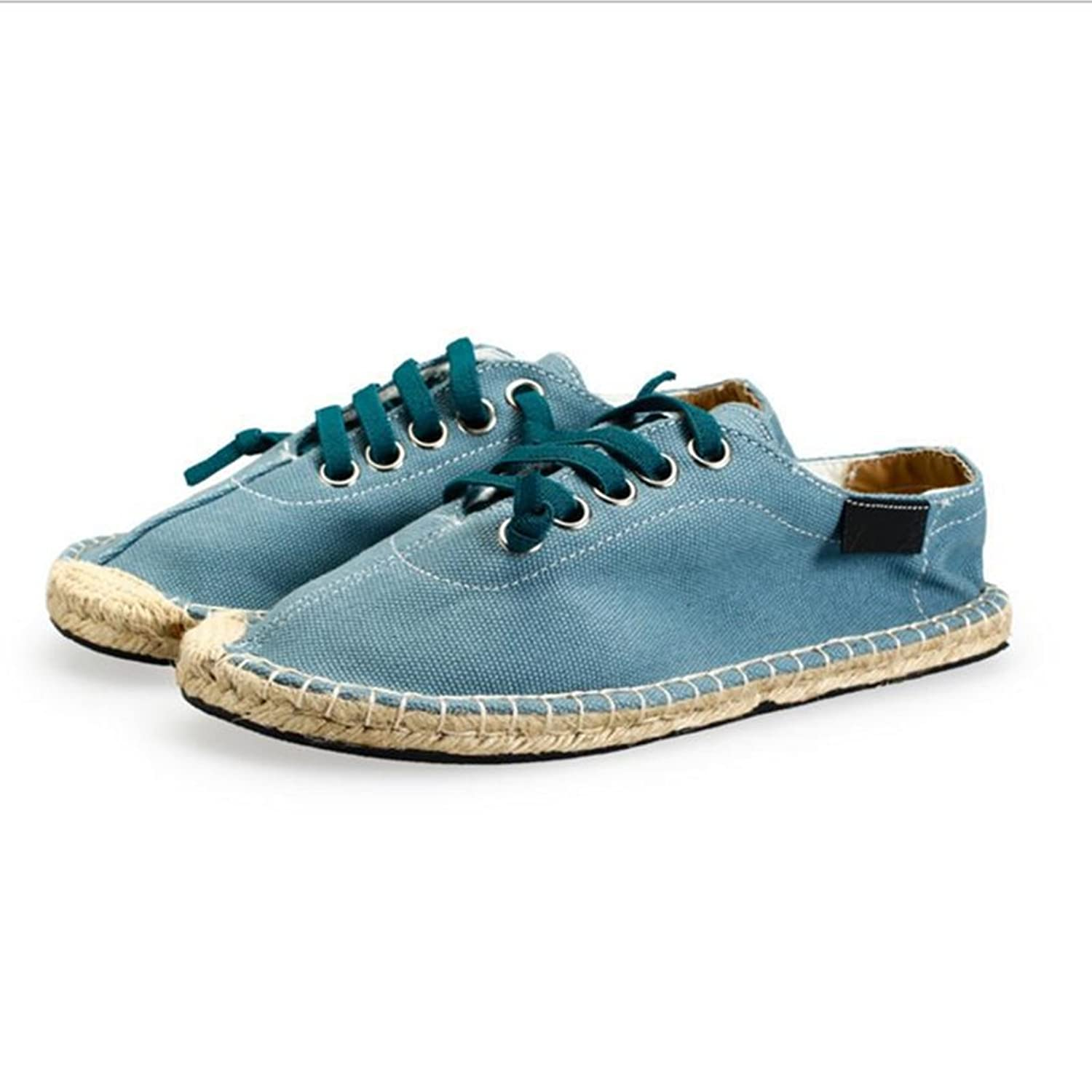 OEM Casual Canvas Shoes Breathable Men's Comfortable Flax Shoes