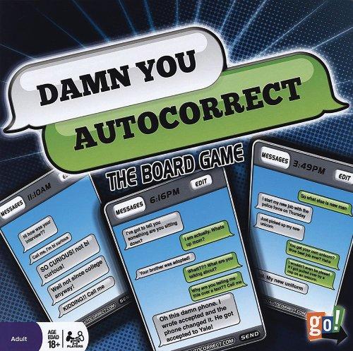 nueva gama alta exclusiva Damn You You You Auto Correct Board Game  ahorra hasta un 70%