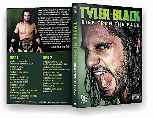 Official ROH Ring of Honor - Tyler Black: Rise From The Fall (2 Disc Set) DVD (Rings Rise)