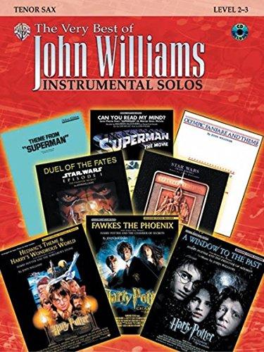 The Very Best of John Williams: Tenor Sax, Book & CD