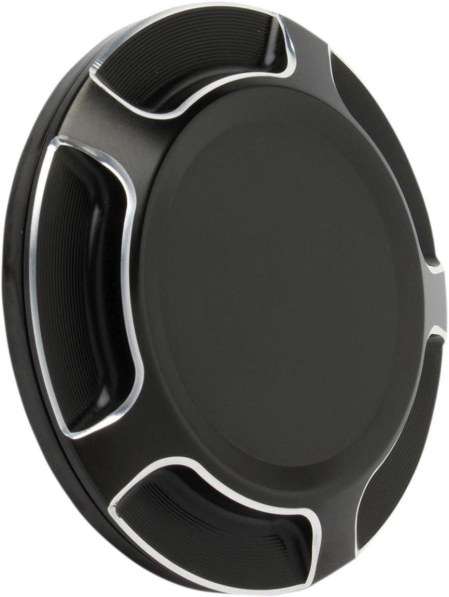 Black Arlen Ness P1391 Beveled Gas Cap