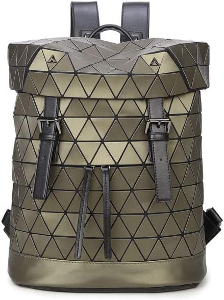 Backpack knapsack Rucksack Infantry Pack Field Pack,New Laser Rhombic Casual Outdoor Backpack