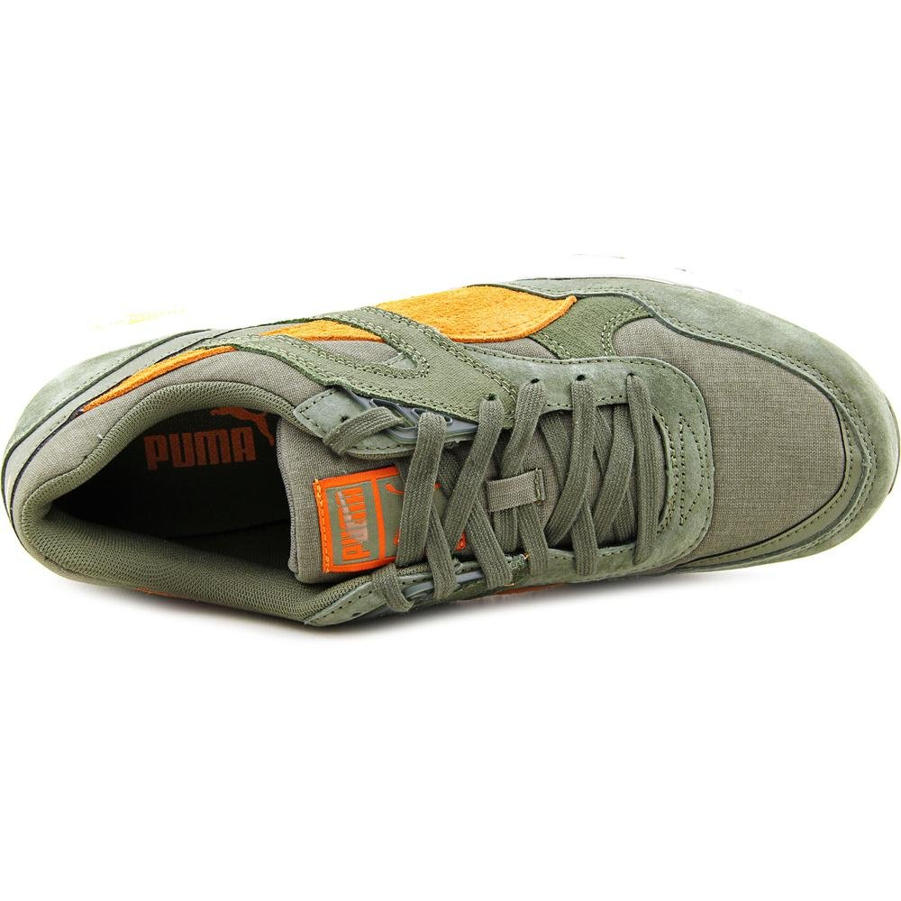 best sneakers 9b22c b0614 Puma Trinomic R698 Street Mens in Bunrt Olive Russet Orange, 8  Buy Online  at Low Prices in India - Amazon.in