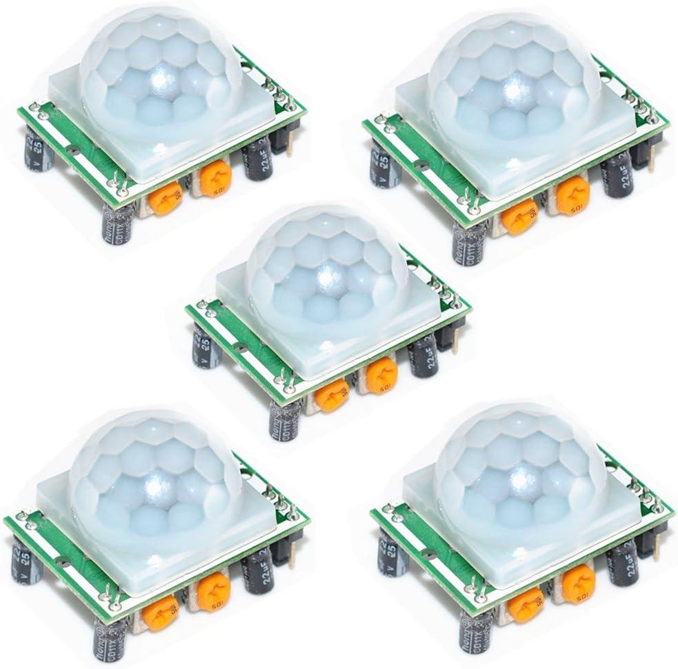10PCS HC-SR501 Pyroelectric Infrared PIR Motion Sensor Detector Module SR501