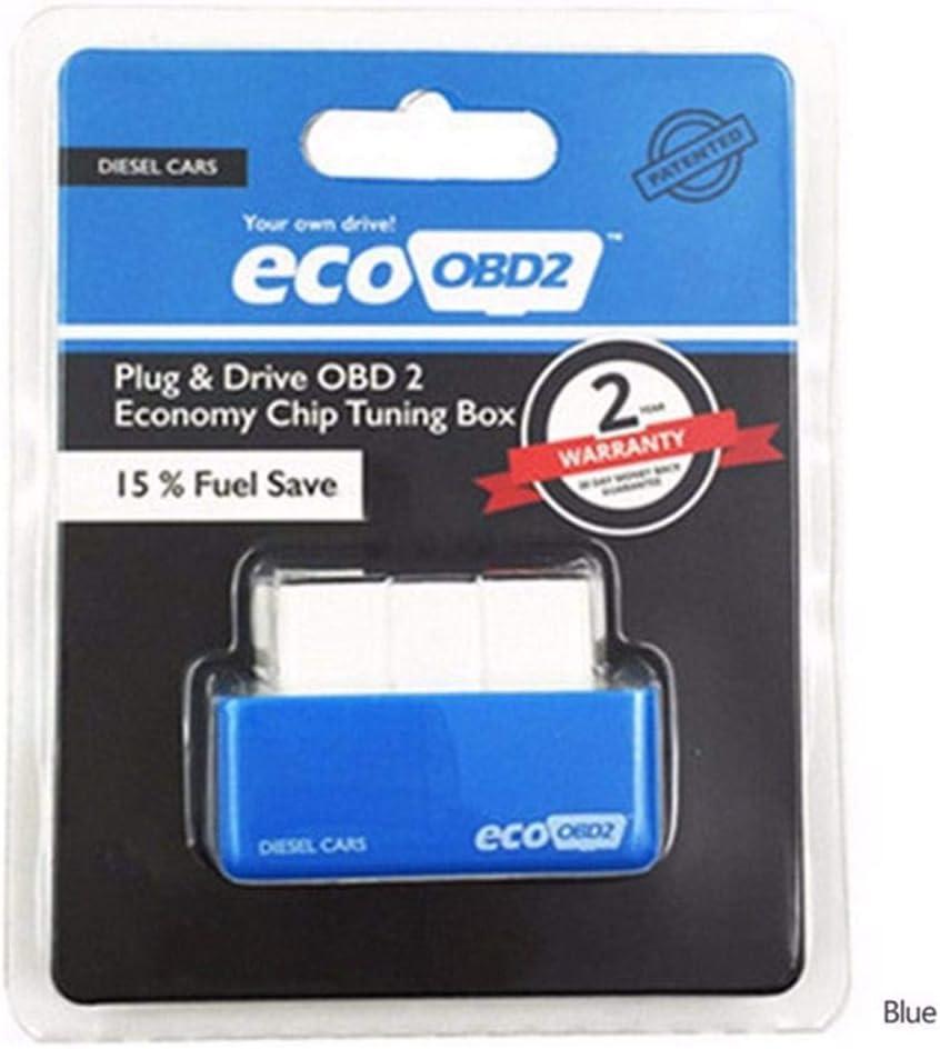 Ntribut Car Eco OBD2 Fuel Economy Chip Tuning Box Car Petrol Fuel Saver Fuel Save Diagnostic Tool For Fuel-saving Vehicles