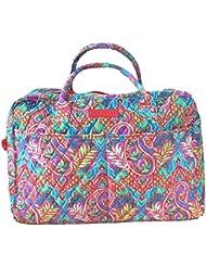 Vera Bradley Weekender Travel Bag (Paisley in Paradise Red Interior)