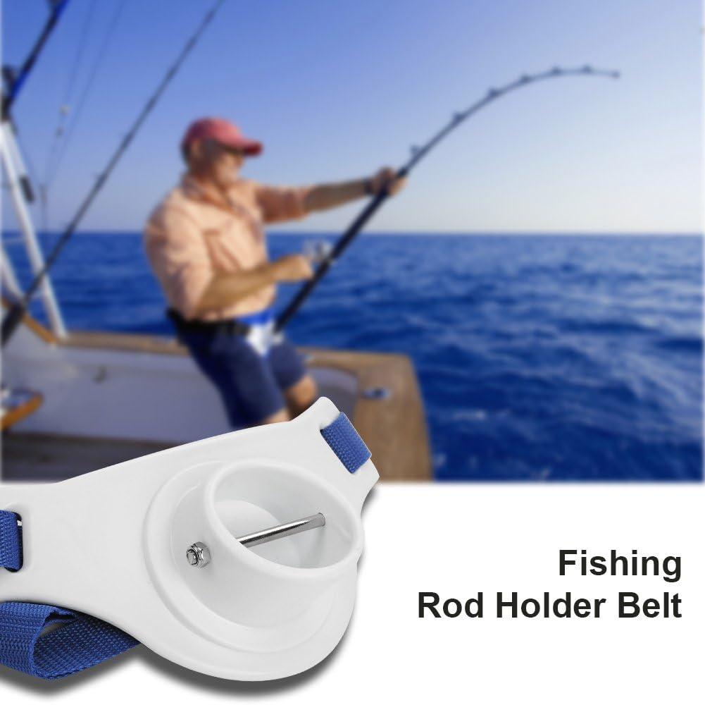 Jinxuny Fishing Fighting Belt Waist Pole Holder Fishing Rod Holder Adjustable Waist Fighting Belt Fish Tackle Accessories