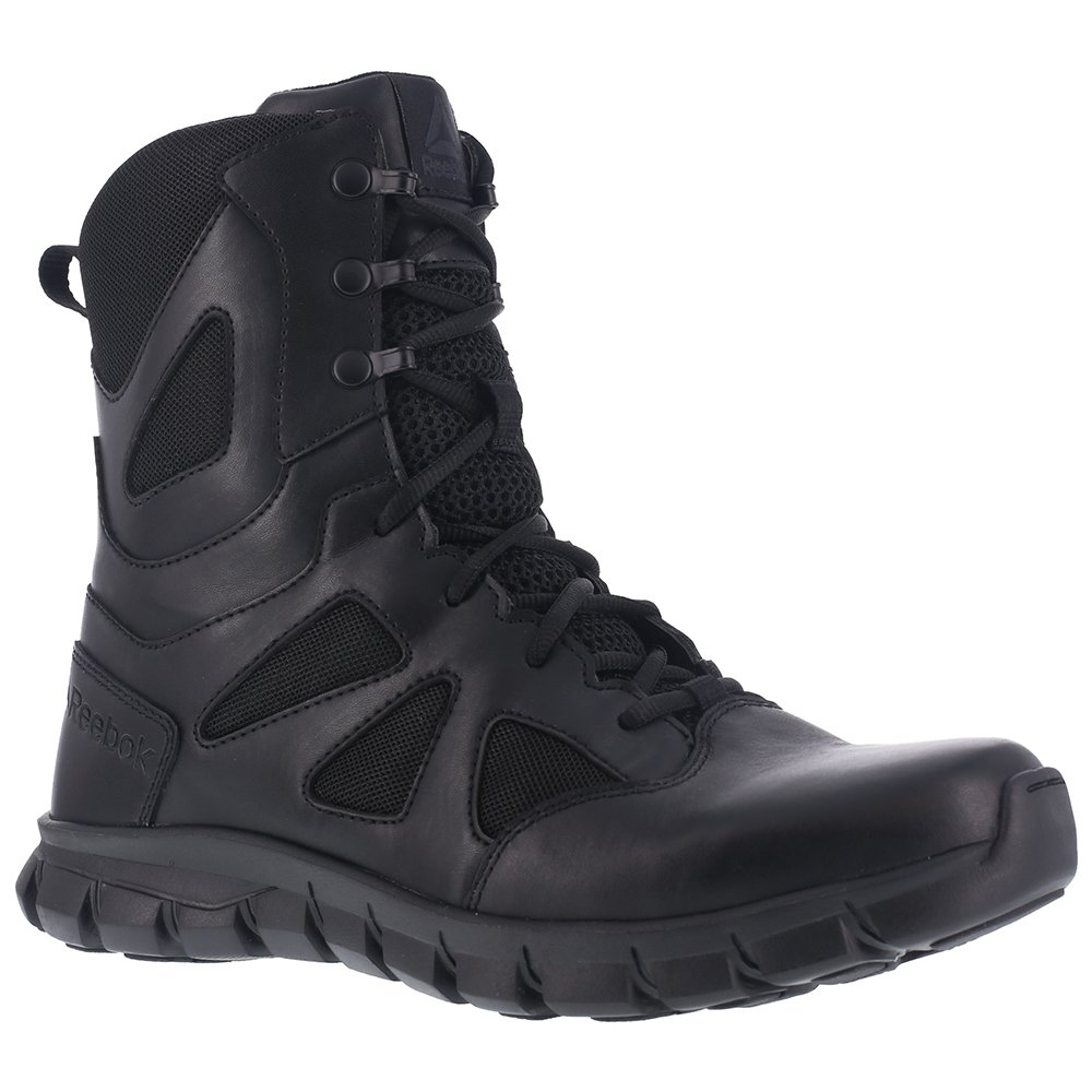 Reebok Women's Sublite Cushion RB806 Military and Tactical Boot, Black, 9.5 M US