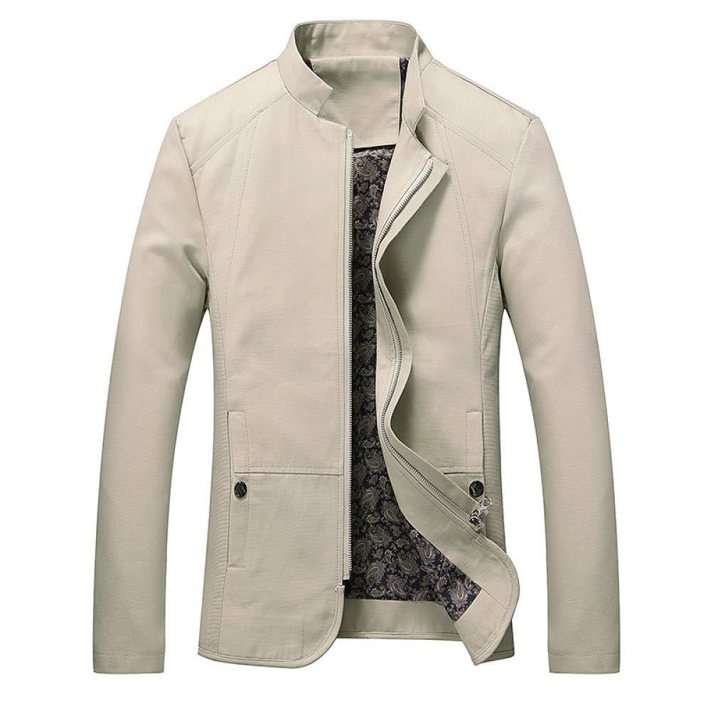 JIAKENVDE Männer Casual Jacken Männer Herbst Business Dünne Mantel Farbe Oberbekleidung Männlichen Herren Oberbekleidung Männlichen 5XL