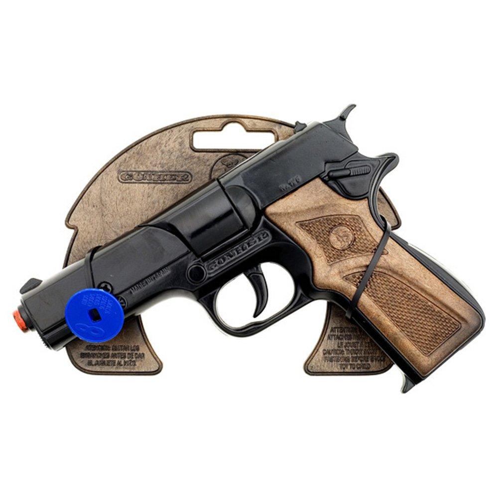 Gonher - Pistola metal de policía, 8 tiros, 17x12 cm product image