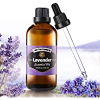 PATIOSNAP True Lavender Essential Oil 100ml, Aromatherapy Oil - Pure, Natural, Cruelty Free, Vegan, Steam Distilled and…