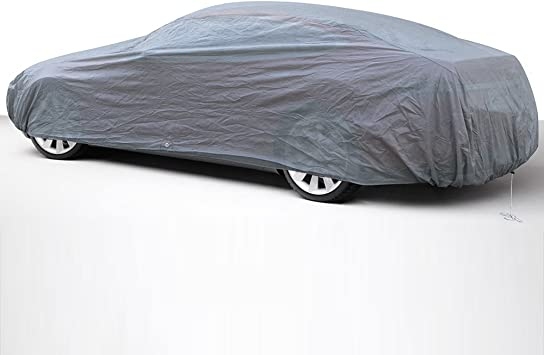 Fits up to 180 Inches in-Door 2 Layers Ready-Fit//Semi Glove Fit Economical Alternative OxGord Premium Car Cover
