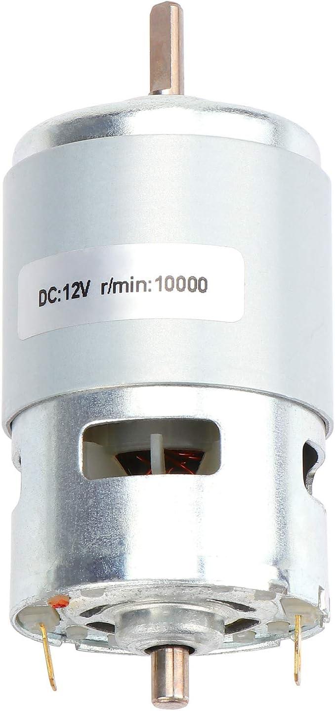 Coolty 12V 10000RPM Micro DC Motore Elettrico Piccolo Micro Motore AD Alta Velocit/à in Miniatura Brushless Motor per Electric Power Tool
