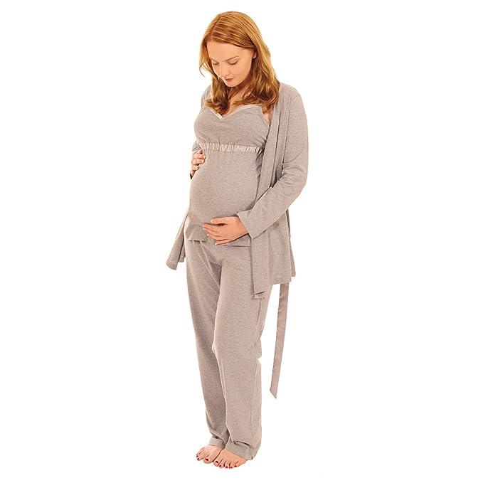 Pixie - Pijama para Lactancia (3 Piezas, fácil de Alimentar): Amazon.es: Ropa y accesorios