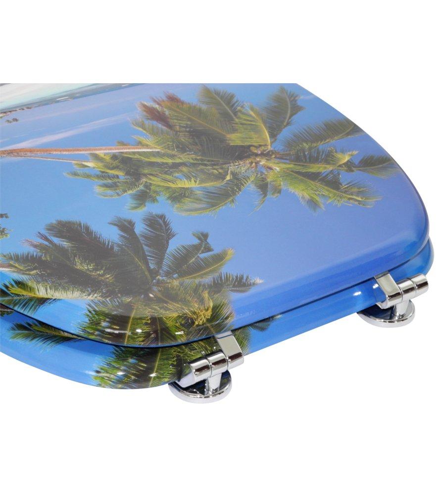 Starfish Asiento de inodoro gran selecci/ón de atractivos asientos de inodoro con calidad superior y duradera de madera