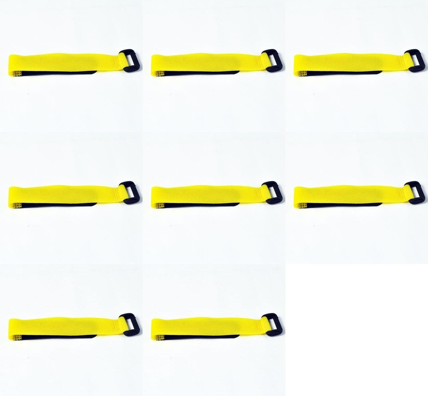 8 x Quantity of Walkera Runner 250 (R) Advanced GPS Quadcopter Drone 20mm Gelb Battery Strap 250-Z-27 Velcro Wrap Quadcopter Drone Part - FAST FROM Orlando, Florida USA!