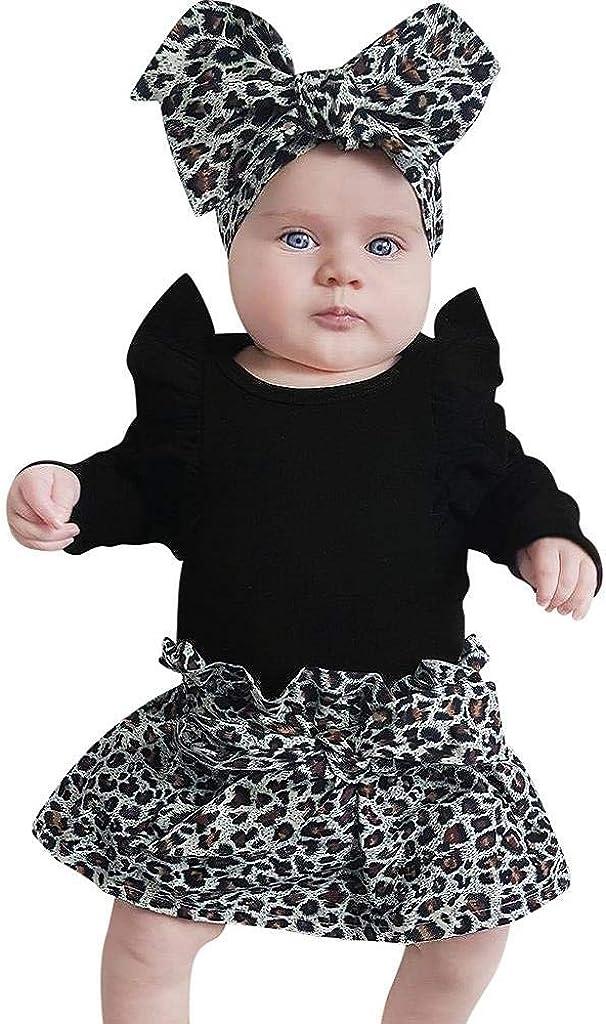 Carolilly Pagliaccetto Neonata Estivo Bimba Body Neonato Manica Corta Tutina Neonato Cotone in Pizzo con Fiocco Bowknot Vestiti Set Outfit da 0 a 24 Mesi
