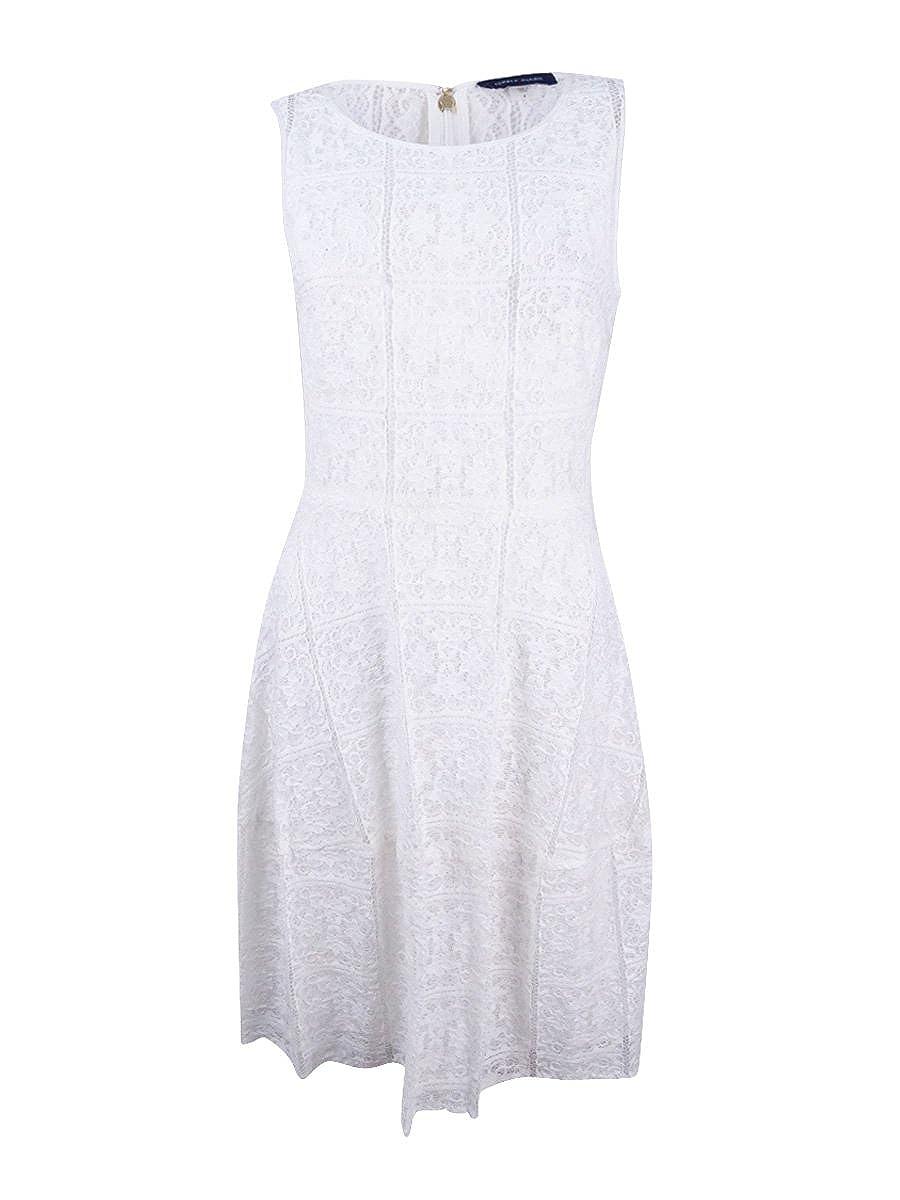 tommy hilfiger white lace dress