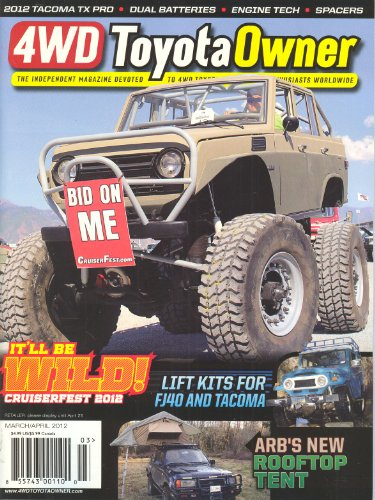 4WD Toyota Owner (March/April 2012, Volume 8 # 2)