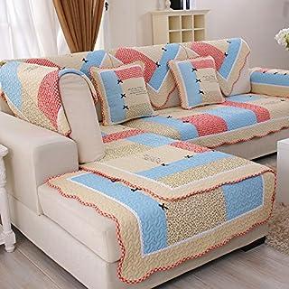 New day®-Antiscivolo in cotone cuscino del divano in stile europeo di fascia alta moda divano cuscino , 90*120