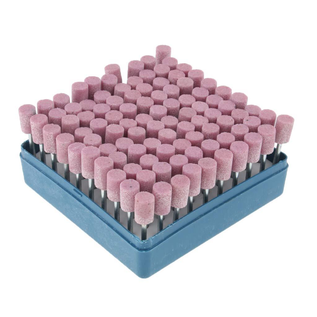 6mm violet perfk 100pcs Bavures Meulage de Pr/écision pour lAff/ûtage Rapide et Facile des Lames de Tron/çonneuse