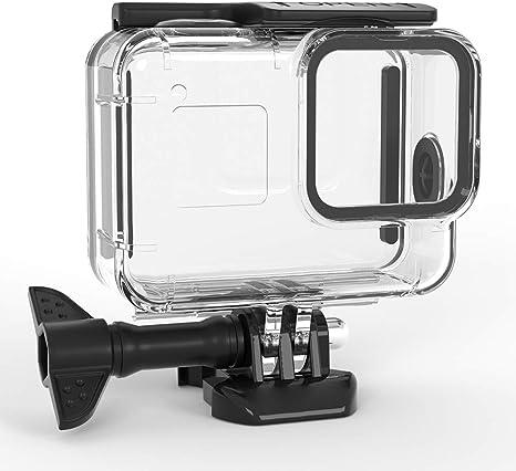 POHOVE Estuche Protector Impermeable para c/ámara de acci/ón para GoPro Hero 9 Negro Estuche r/ígido de Transporte Mini Bolsa de Almacenamiento de Viaje para Go-Pro