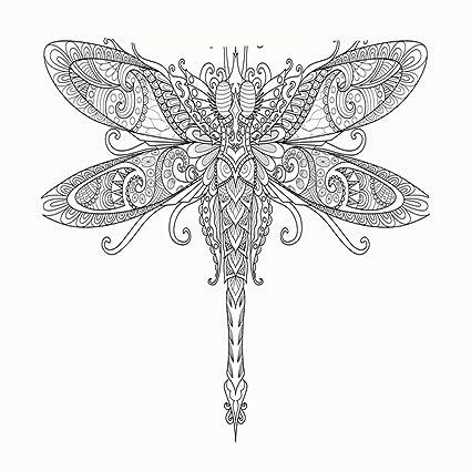 Tattoo Design Dragonfly