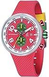Spinnaker - SP-5029-03 - Dynamic - Montre Homme - Quartz Chronographe - Cadran Rouge - Bracelet Silicone Rouge