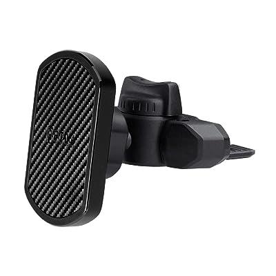 PITAKA Magnetic CD Slot Car Mount[CD Slot MagEZ Mount ]-Premium Luxury 360 Degree Rotation CD Slot Phone Holder for Smartphones