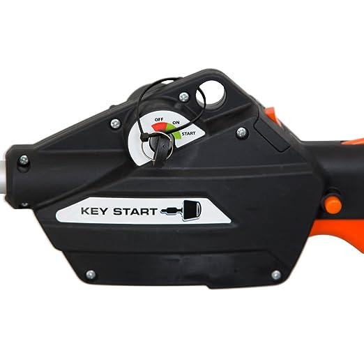 Brast - Cortacésped Sense Start con llave de contacto 2 en 1: Amazon.es: Bricolaje y herramientas