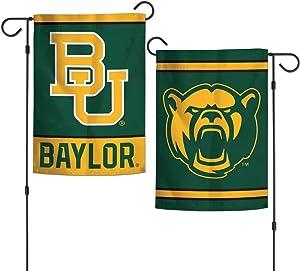 "WinCraft NCAA Baylor University Bears 12.5"" x 18"" Inch 2-Sided Garden Flag Logo"