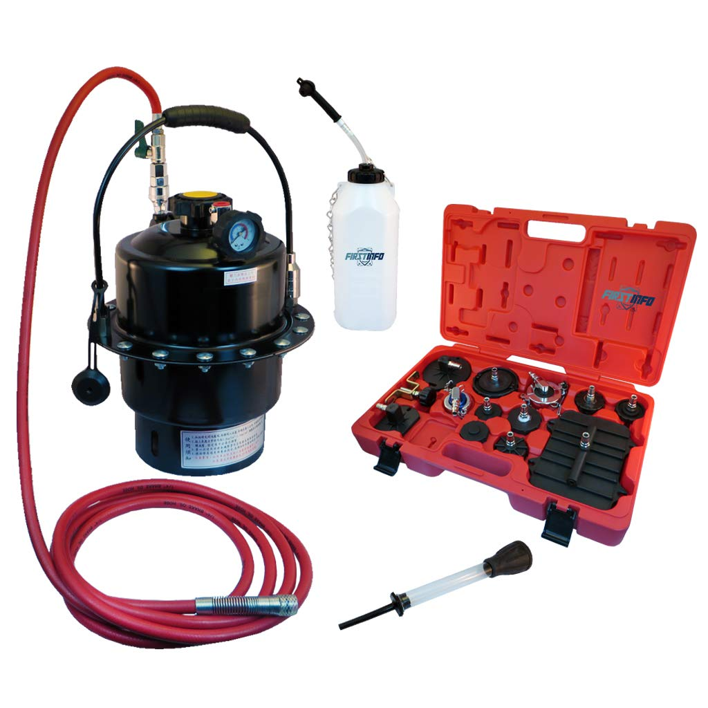 FIRSTINFO Pressure Brake Fluid Bleeder Suitable to Most ABS Brake System Made in Taiwna