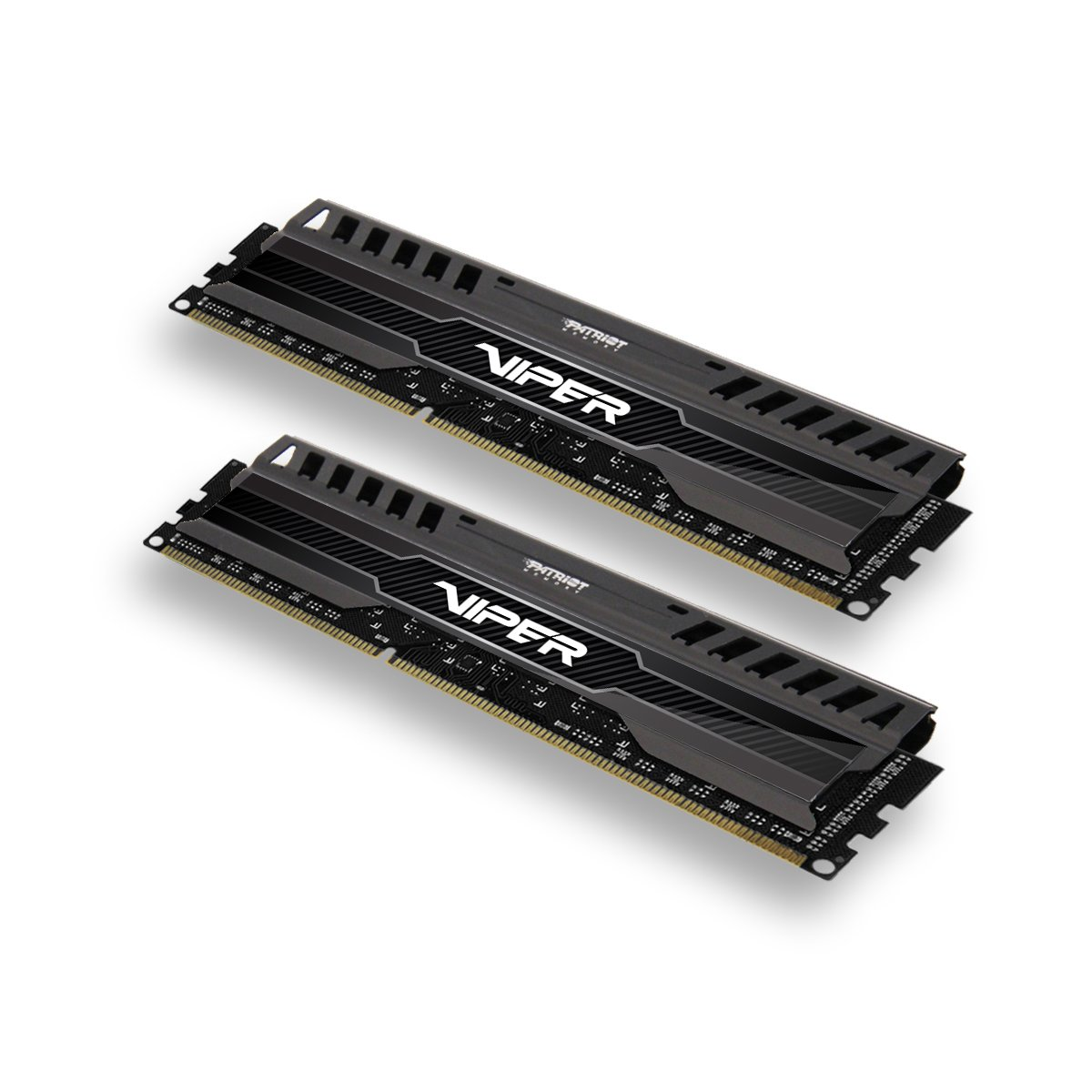 Patriot 16GB(2x8GB) Viper III DDR3 1866MHz (PC3 15000) CL10 Desktop Memory With Black Mamba Heatsink - PV316G186C0K