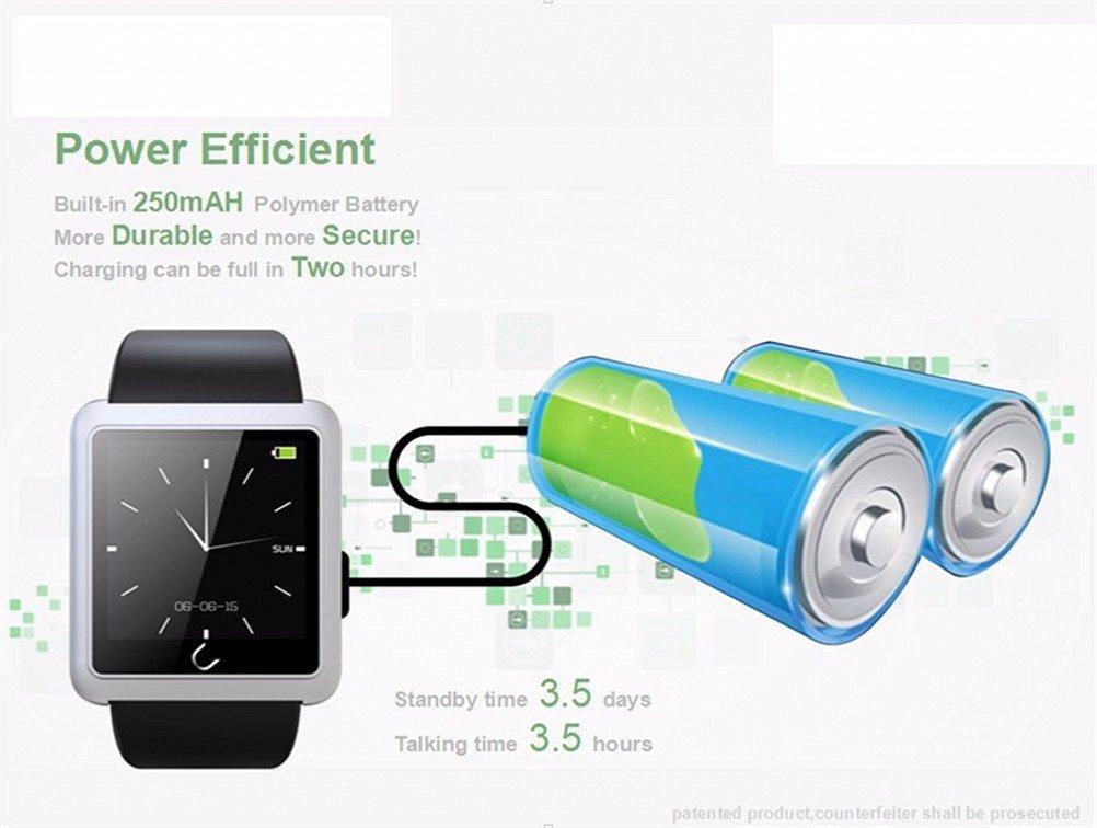 Correa de silicona Uwatch U10L Bluetooth SmartWatch alta ...
