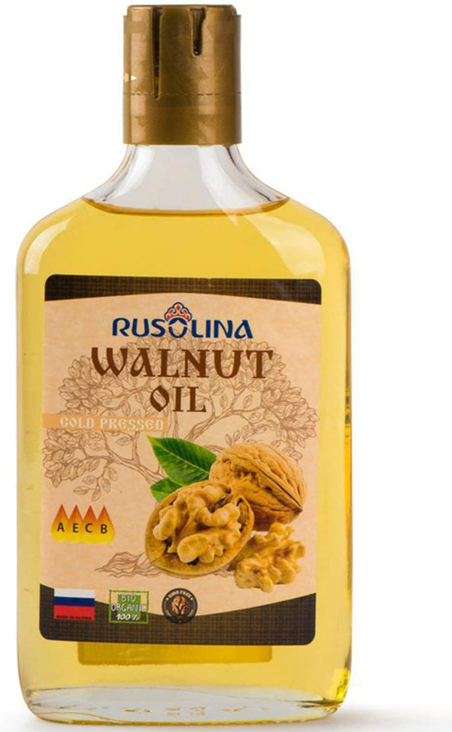 Muller Walnut Oil Food Grade 250 ml Cooking Oil Cold Pressed Food Supplement Without Any Additives Bottle-250ml